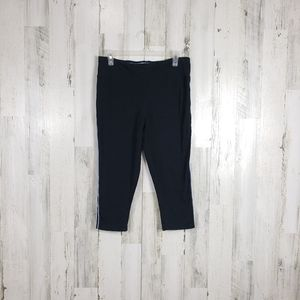 5/$25 Game time cropped black leggings size large